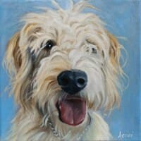 Philip - oil painting by Lisa-Acciai