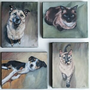 LAc Studio - Original Paintings by Lisa Acciai