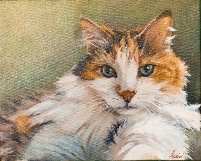 ella-fitzgerald painting by Lisa Acciai
