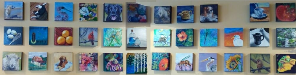 Full 8x8 show at Mill Mnt Coffee and Tea