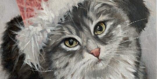 Miss Kitten-oil-LAcStudio