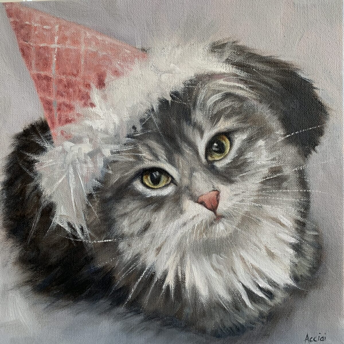 Miss Kitten-oil-LAcStudio