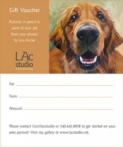 L.Ac. Studio Pet Portrait Gift Voucher